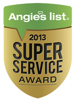 Angie's list - 2013 Super Service Award